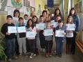 1 Математиците призьори заедно със своите преподаватели