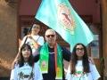Със знамето, Мартин и асистентките Вилиана и Петина - 17.09.2016