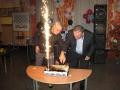 21 Тортата е разрязана... ритуално и ефективно!