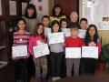 Призьорите в международно математическо състезание, Зима 2015