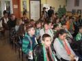 Учениците от пети и шести клас слушаха и гледаха с неподправен интерес!