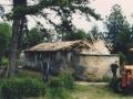 Събаряне на старата и опасна тоалетна - 1