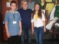 помощници на 12 май - Айгюл и Андреан